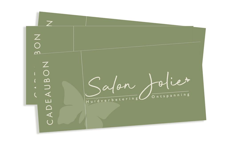 Cadeaubon Salon Jolie